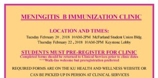 Meningitis B Clinic Information