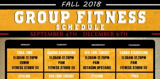 Rec Sports Group Fitness Schedule