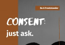 Be a Frontstander-Educate Others on Consent!