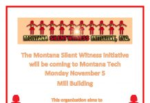 Silent Witness Initiative Comes to Montana Tech
