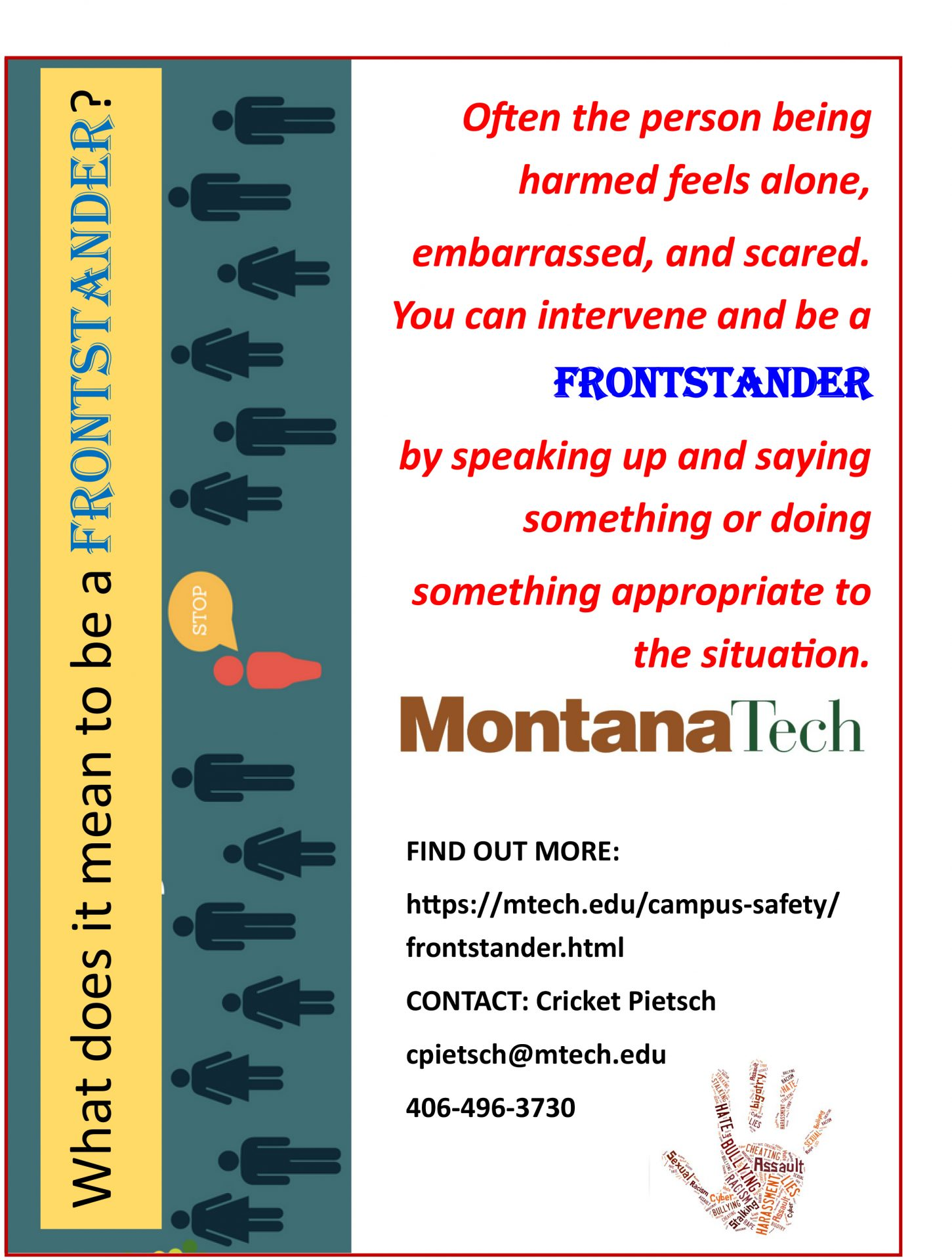 What Does it Mean to be a FRONTSTANDER?