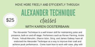 Alexander Technique Lessons