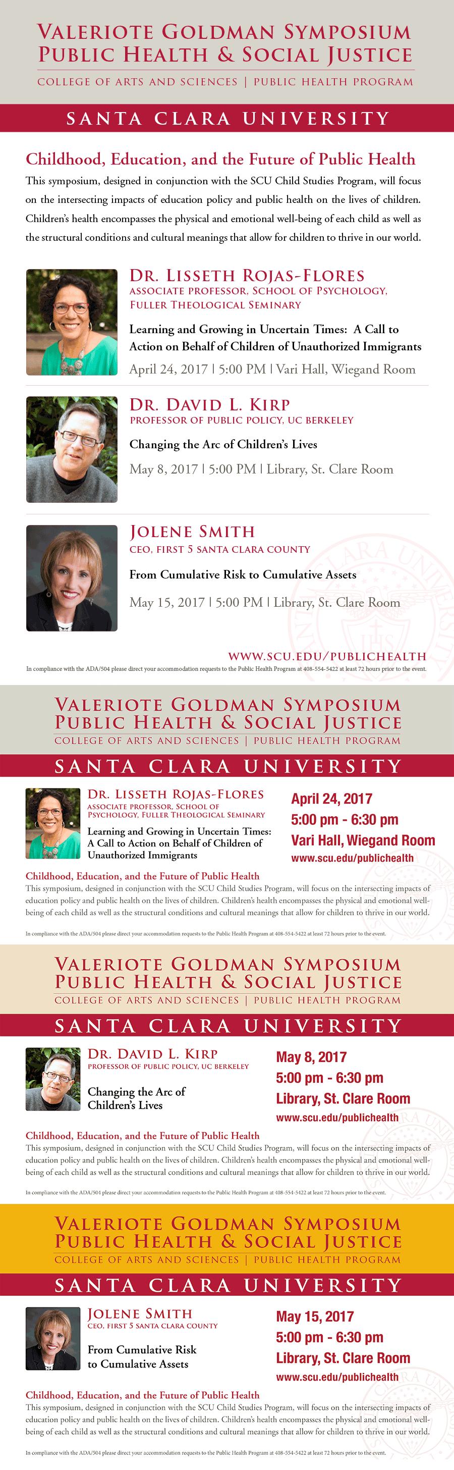 Valeriote Goldman Symposium Public Health & Social Justice
