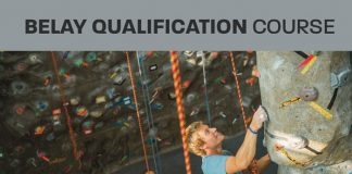 Belay qualification course