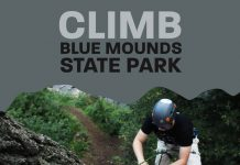 Climb blue mounds state park