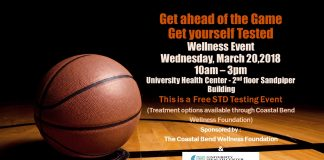 Free STD Testing Event!!! - Wednesday March 20th- 10am to 3pm - 2nd floor University Health Center