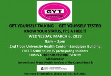 Get Yourself Talking,Get Yourself Tested - FREE STD TESTING EVENT - Wednesday March 6TH from 9am -2pm - 2nd floor Health Center