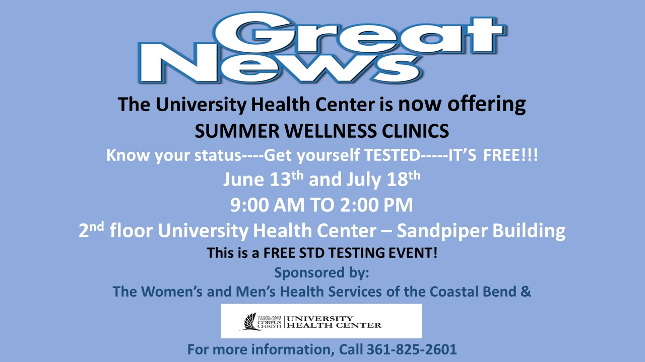 Summer Wellness Events Texas A M University Corpus Christi