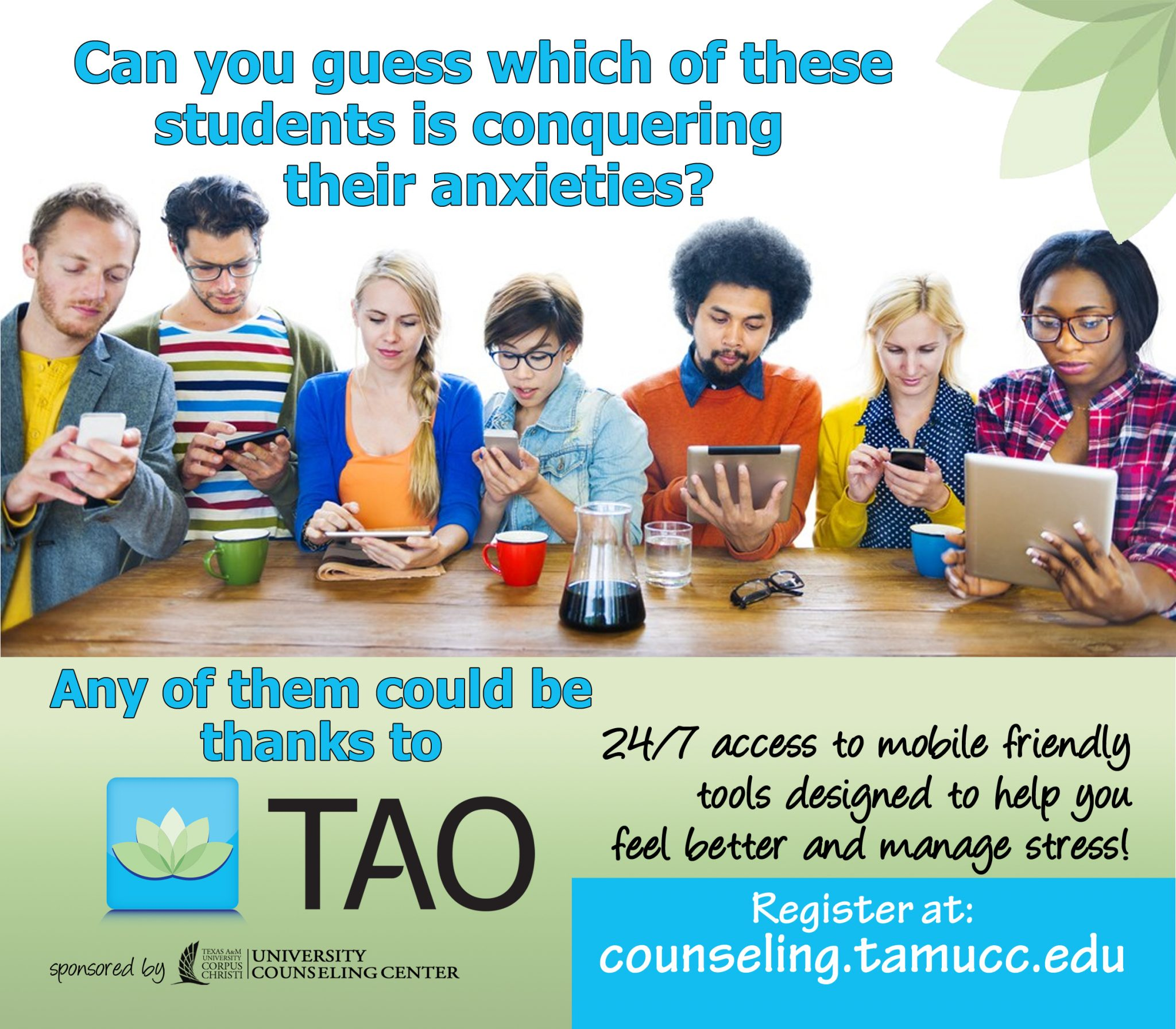 TAO program now available at the University Counseling Center