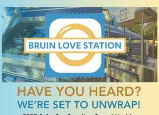 Bruin Love Station at UCLA!