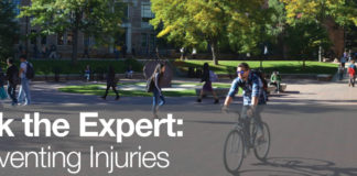 Healthy Buffs: Ask the Expert – Preventing Injuries