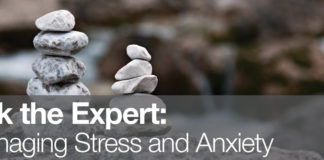 Healthy Buffs: Ask the expert – How to manage stress and anxiety
