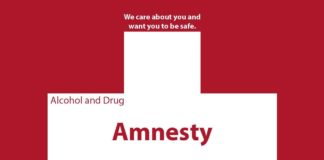 Amnesty at UD; What You Need To Know: We care about you and want you to be safe