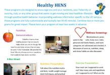 Healthy Hens