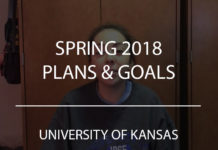 spring 2018 plans and goals university of kansas