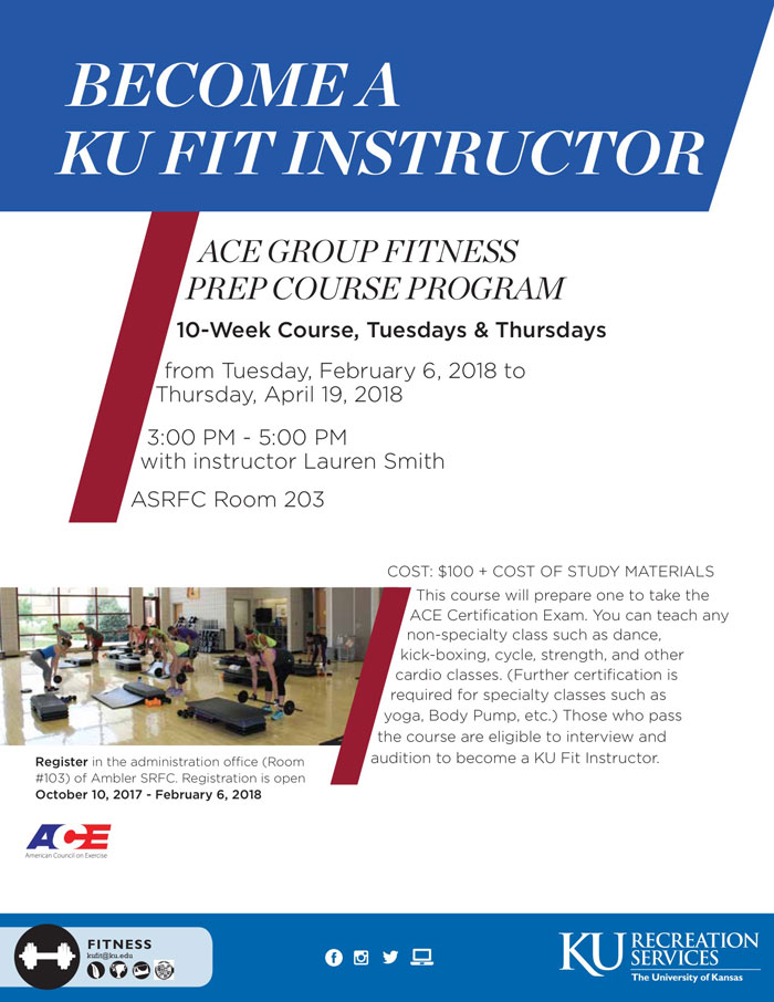 Become a Group Exercise Instructor