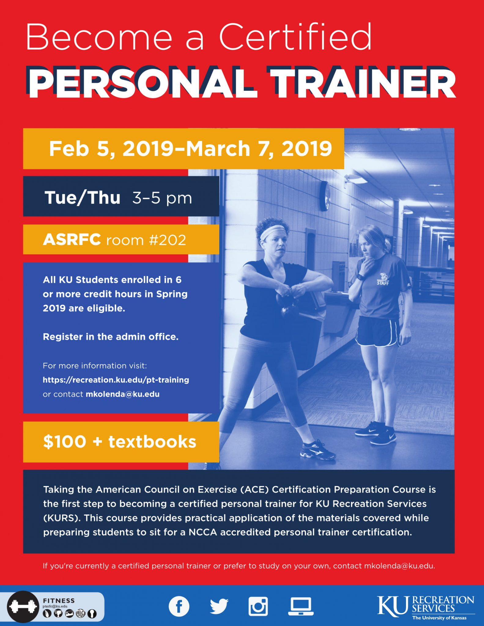 Updates to the ACE Personal Training Prep Course