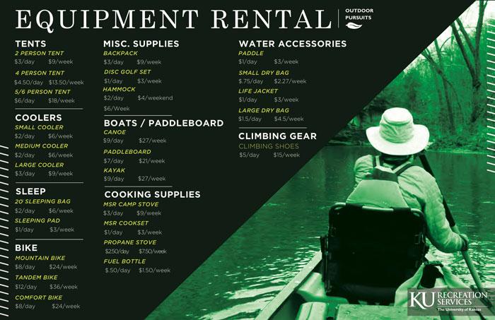 Rent Equipment for Outdoor Adventures