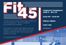Fit45: A Summer Workout Class