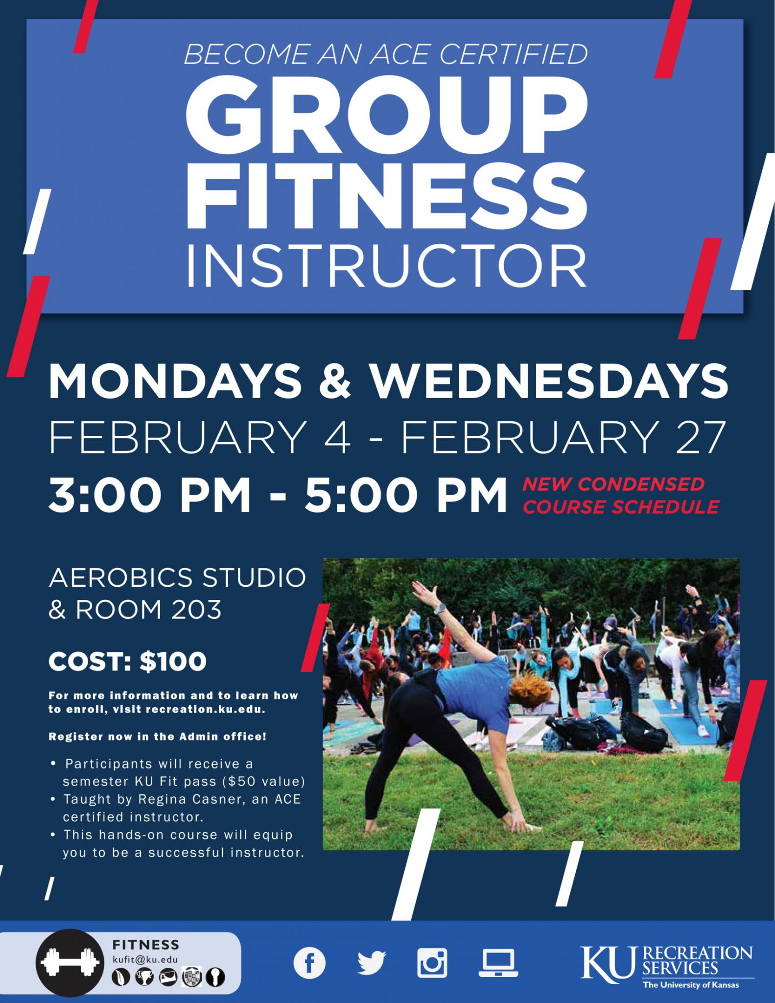 Updates to the ACE Group Fitness Prep Course