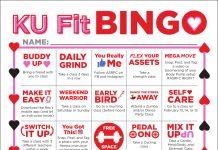 KU Fit Bingo Challenge