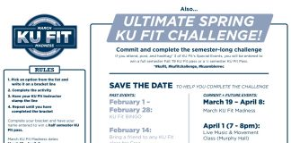 March KU Fit Madness Bracket Page 2