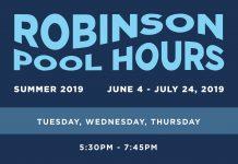 Robinson Swimming Pool Hours