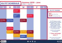 KU Fit Summer Group Fitness Classes