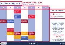 KU Fit Summer Group Fitness Classes