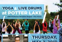 Yoga & Live Drums at Potter Lake