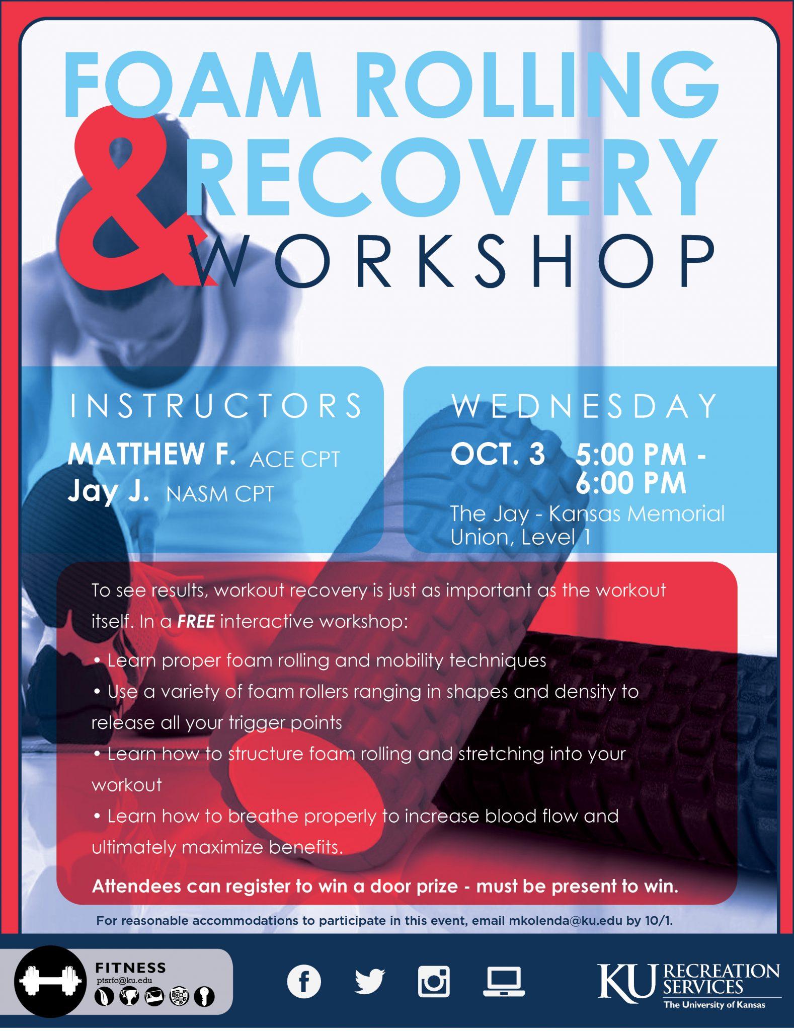 Foam Rolling & Recovery Workshop