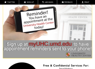 University Health Center Information