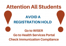 Avoid an Immunization hold
