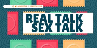 SEPTEMBER 13 UNIVERSITY HALL 2300 @UMBSEXTALK | UMBSEXTALK.COM REAL TALK SEX TALK 5PM | FREE! COLLEGE OF NURSING AND HEALTH SCIENCES UNIVERSITY HEALTH SERVICES HEALTH & WELLNESS PROGRAMS EARN 500 POINTS To redeem at UMBSexTalk.com