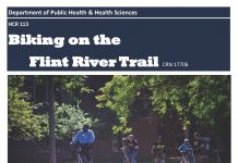 HCR 113􀀃Biking on the Flint River Trail CRN 17706