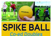 Spikeball co-ed tournament
