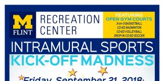 Free to students/faculty/staff with valid M-CARD! Join in the fun with co-ed sports/games/etc. LIVE DJ!