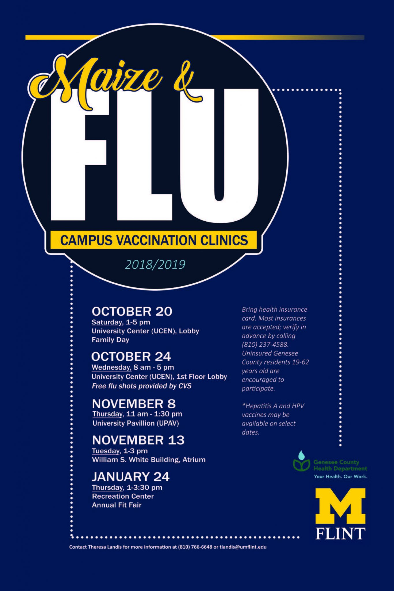 M&Flu date/time changes
