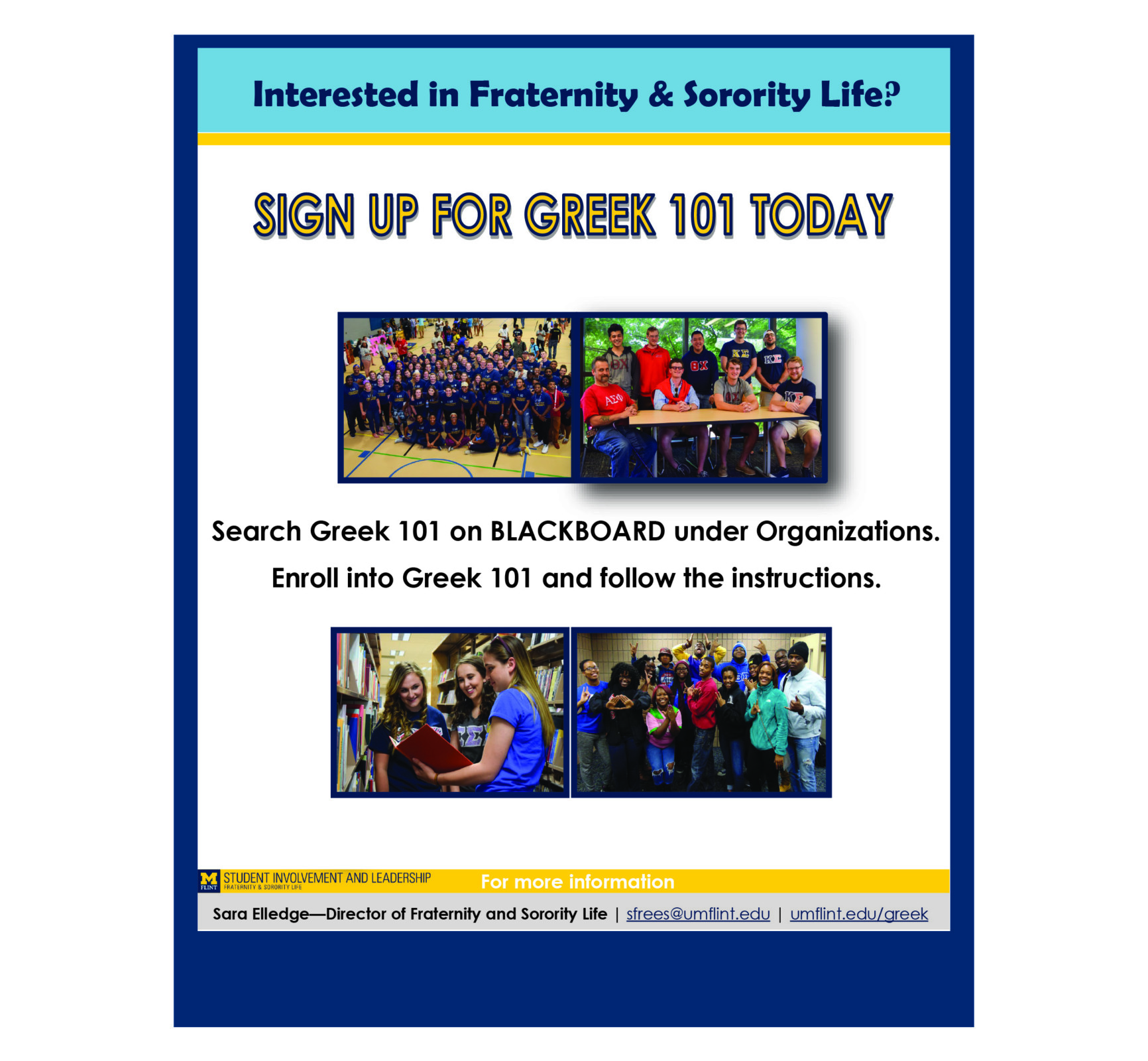 Fraternity and Sorority information
