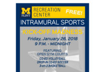 Intramural KICK OFF MADNESS - soccer, volleyball, basketball