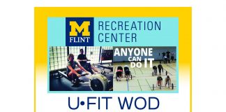 UFit Workout of the Day Fall 2019