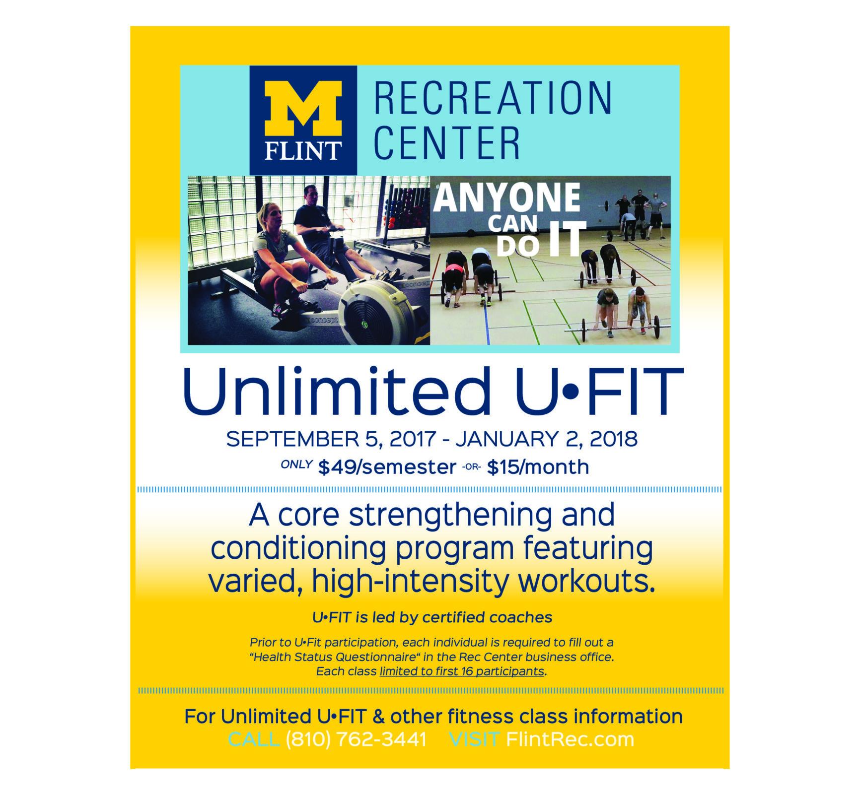 Unlimited UFIT cross-training program