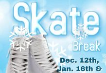 Skate Break dates for UM-Flint students, faculty/staff