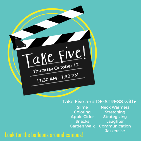 Take Five Activities