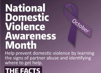National Domestic Violence Awareness Month Help prevent domes c violence by learning the signs of partner abuse and identifying where to get help. THE FACTS 57% of college students who report having been in an abusive relationship said it occurred in college. 58% of college students say they don't know how to help someone who experiences violence. 38% of college students say they don't know how to get help for themselves on campus if they were a vicim of abuse. 57% say it is difficult to identify abuse. To learn about dating violence, go to www.breakthecycle.org CAMPUS RESOURCES Confidential support is available through the Counseling Center. You may schedule an ini al intake appointment by calling the Counseling Center at 425-352-3183 or stopping by UWI-080. To report an act of violence contact Student Conduct at UWB-StudentConduct@uw.edu