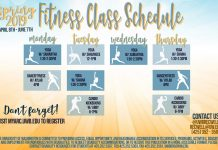 spring fitness schedule