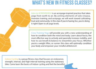 What's new in fitness classes?