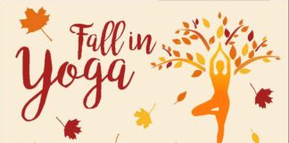 Fall in yoga
