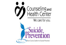 Counseling-and-Health-Center-and-Suicide-Prevention-Logos