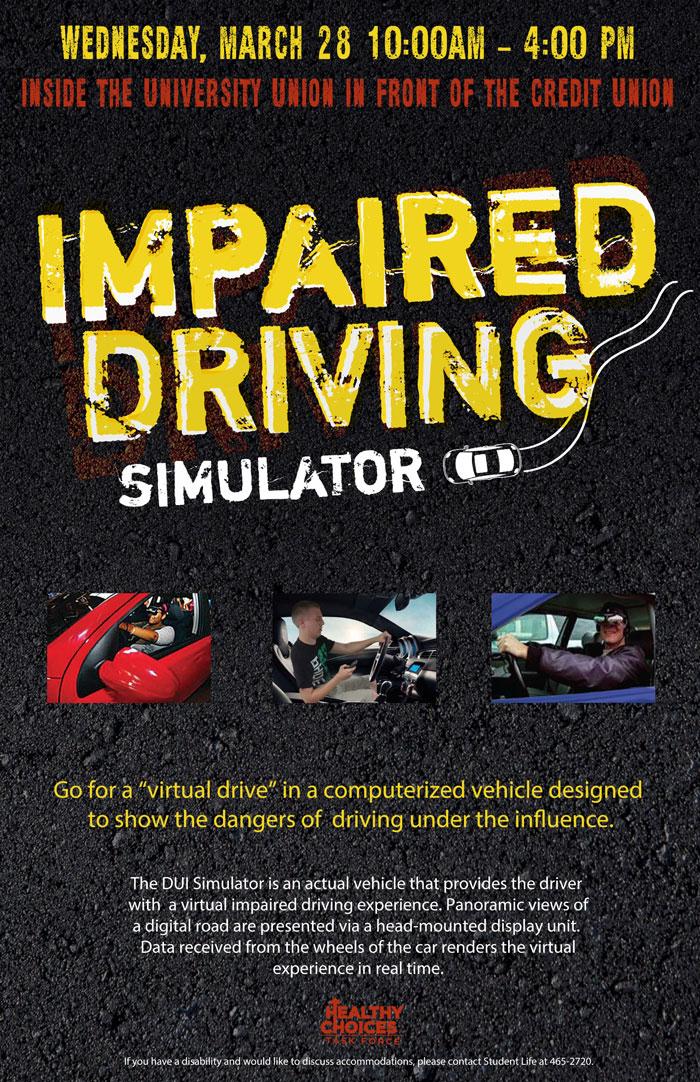 Impaired Driving Simulator